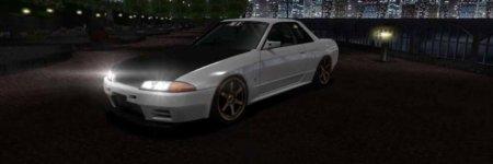 ドリスピ 全車種図鑑:SKYLINE GT-R [ガレージACE] 擬音Ver. (BNR32)