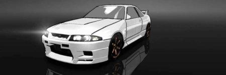 ドリスピ 全車種図鑑:SKYLINE GT-R V-Spec [FLAT RACING] 水彩Ver. (BCNR33)