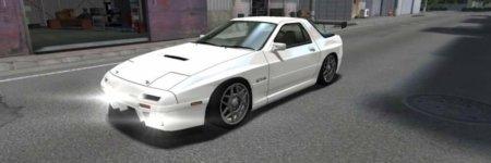 ドリスピ 全車種図鑑:SAVANNA RX-7 GT-X FC3S [ZERO] 擬音Ver.