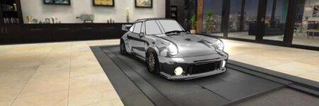 """ドリスピ 全車種図鑑:911 Turbo 3.6 964 """"ブラックバード"""" [北見チューン] 水彩Ver."""