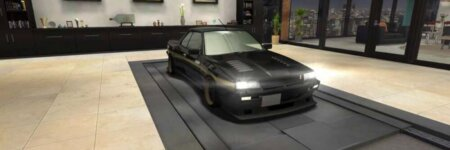 """ドリスピ 全車種図鑑:SKYLINE RS-X Turbo C """"StormBringer"""" (DR30)"""